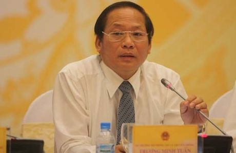 Bo truong Thong tin va Truyen thong neu ly do dinh ban bao Petrotimes - Anh 1