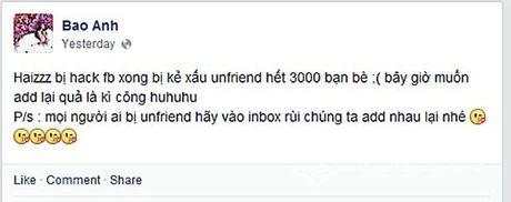 Soc: Facebook cua Pham Huong da bi fan 'chiem doat'! - Anh 5