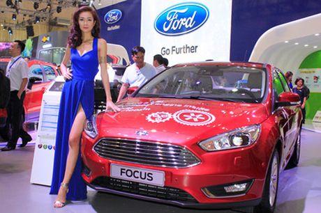 Rung chan dai goi cam tai Vietnam Motor Show 2016 - Anh 11