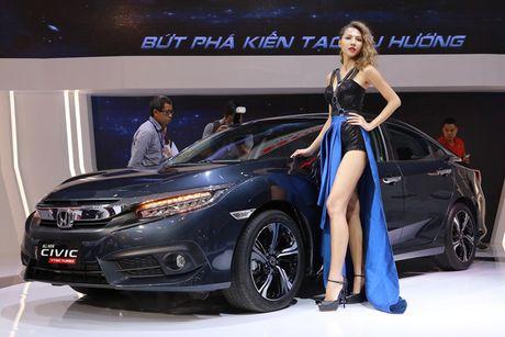 Rung chan dai goi cam tai Vietnam Motor Show 2016 - Anh 1