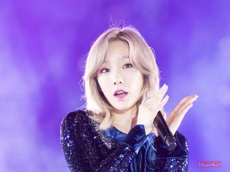 Taeyeon (SNSD) sieu dang yeu khi bi giat minh vi phao hoa - Anh 5
