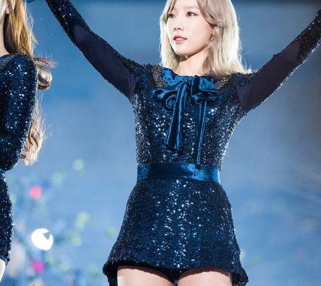 Taeyeon (SNSD) sieu dang yeu khi bi giat minh vi phao hoa - Anh 6