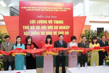 Trien lam 'Luc luong vu trang Thu do Ha Noi' - Anh 1