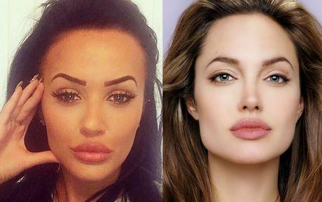 Co gai duoc coi nhu Angelina Jolie cua nuoc Anh - Anh 4