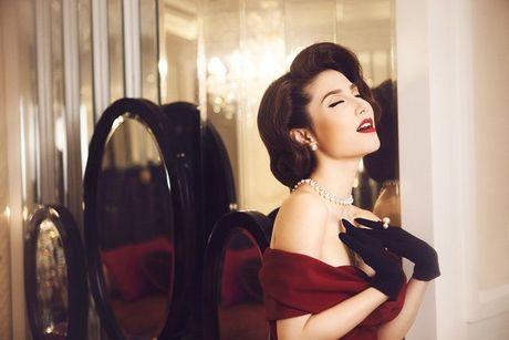 Diem My 9x goi cam trong bo anh lay y tuong tu Marilyn Monroe - Anh 6