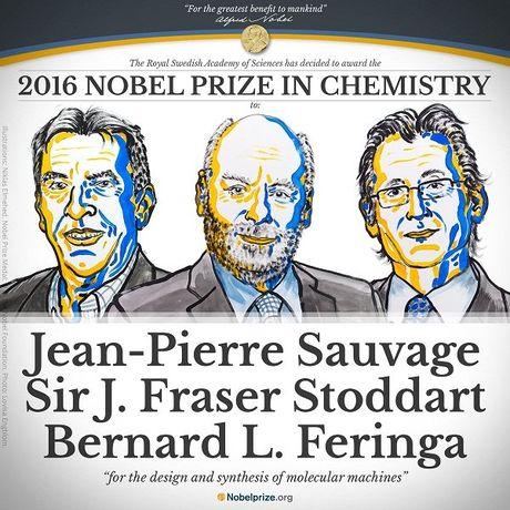 Ba nha khoa hoc nhan Nobel Hoa hoc 2016 - Anh 1