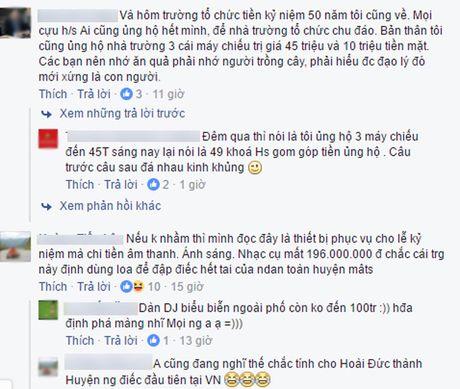 """Ha Noi: Keu goi ung ho de mua """"tang da"""" gia 100 trieu nhan dip 50 nam thanh lap truong - Anh 2"""