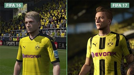 So sanh do hoa FIFA 17 va 16: That hon, co hon hon - Anh 1