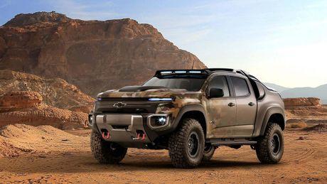 Chevrolet Colorado ZH2 concept - Xe 'tang hinh' cua Quan doi My - Anh 1