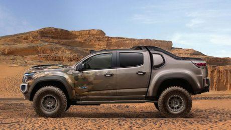 Chevrolet Colorado ZH2 concept - Xe 'tang hinh' cua Quan doi My - Anh 2