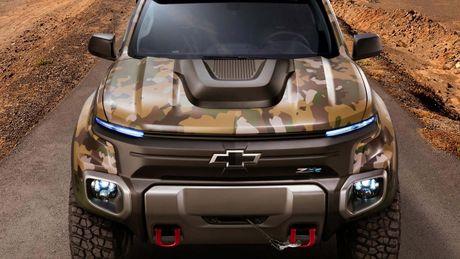 Chevrolet Colorado ZH2 concept - Xe 'tang hinh' cua Quan doi My - Anh 4
