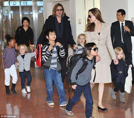 Angelina Jolie tat ta lo dieu tri tam ly cho cac con sau ly hon - Anh 1