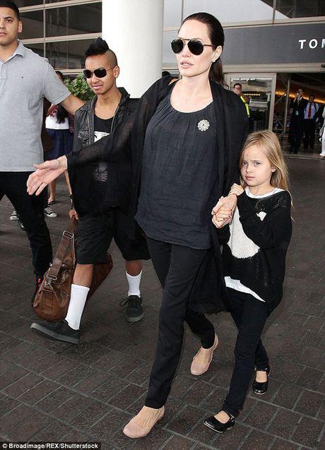 Angelina Jolie tat ta lo dieu tri tam ly cho cac con sau ly hon - Anh 3