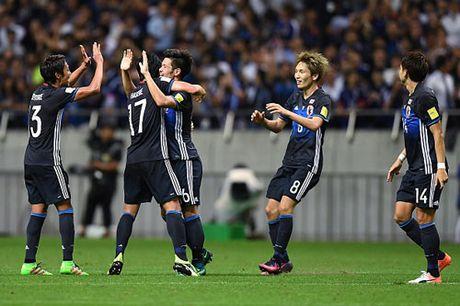 Cap nhat ket qua vong loai World Cup 2018 khu vuc chau A - Anh 1