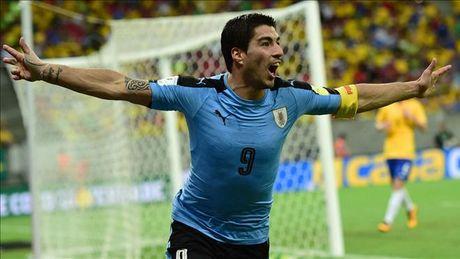 Vong loai World Cup 2018 khu vuc Nam My: Brazil, Uruguay va Argentina giu vung Top 3 - Anh 1