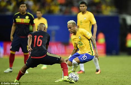 Vong loai World Cup 2018 khu vuc Nam My: Brazil, Uruguay va Argentina giu vung Top 3 - Anh 2