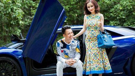 Sieu xe Lamborghini Aventador SV lam nen cho dai gia Minh 'Nhua' tao dang ben vo - Anh 1
