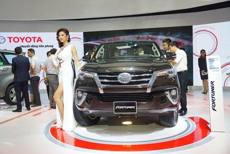 Toyota Fortuner 2017 ra mat tai trien lam VMS 2016 - Anh 1