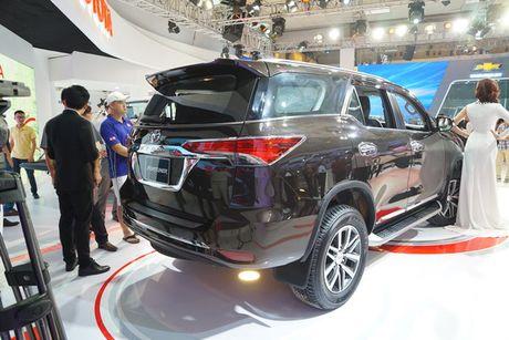 Toyota Fortuner 2017 ra mat tai trien lam VMS 2016 - Anh 3