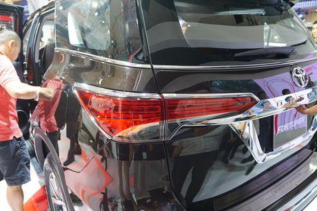Toyota Fortuner 2017 ra mat tai trien lam VMS 2016 - Anh 6