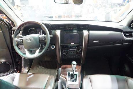 Toyota Fortuner 2017 ra mat tai trien lam VMS 2016 - Anh 8