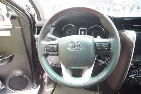 Toyota Fortuner 2017 ra mat tai trien lam VMS 2016 - Anh 9