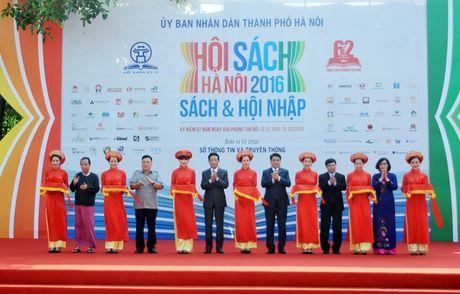 """Co hoi tiep can hang nghin dau sach hay o """"Hoi sach Ha Noi 2016"""" - Anh 1"""