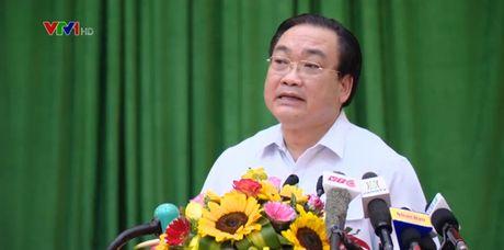 Bi thu Hoang Trung Hai: Khong de vu viec ca chet o Ho Tay tai dien - Anh 1