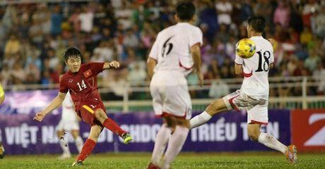 Highlight: DT Viet Nam 5-2 DT Trieu Tien (Giao huu) - Anh 1