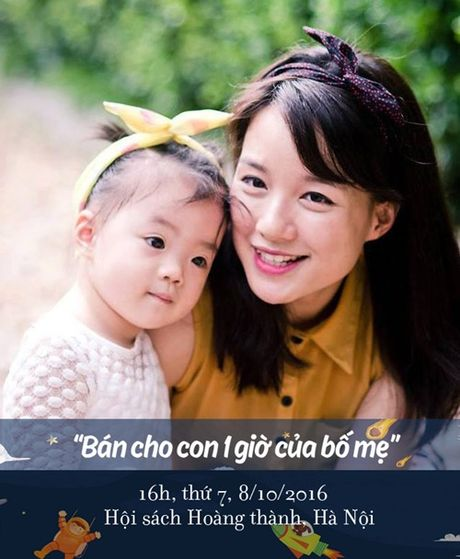 """Lang nghe MC Minh Trang noi ve viec """"Ban cho con mot gio cua bo me"""" - Anh 1"""
