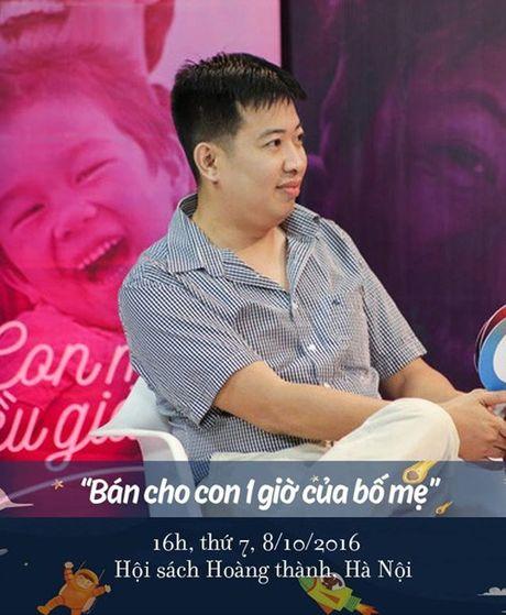 """Lang nghe MC Minh Trang noi ve viec """"Ban cho con mot gio cua bo me"""" - Anh 2"""