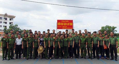 "Cong doan Tong cuc Chinh tri CAND ""ve nguon"" tai Quang Nam - Anh 3"