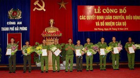 Khen thuong cac don vi thuoc Cong an Hai Phong co thanh tich xuat sac - Anh 1