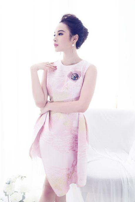 Angela Phuong Trinh 'ghi diem' voi ve dep ngot ngao day nu tinh - Anh 2