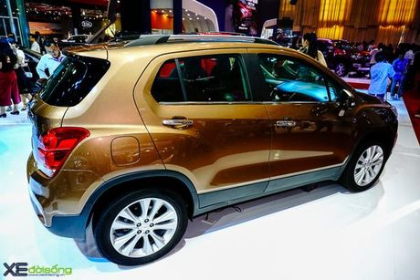 Chi tiet Chevrolet Trax gia 769 trieu dong - Anh 12