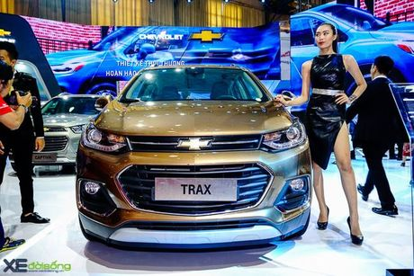 Chi tiet Chevrolet Trax gia 769 trieu dong - Anh 1
