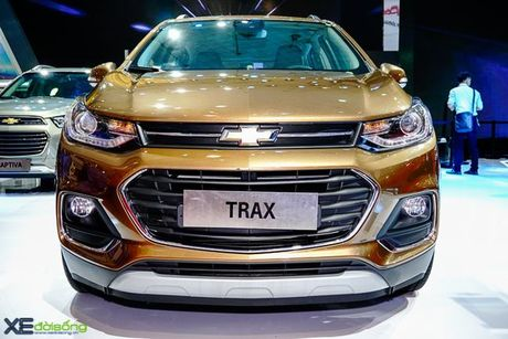 Chi tiet Chevrolet Trax gia 769 trieu dong - Anh 2