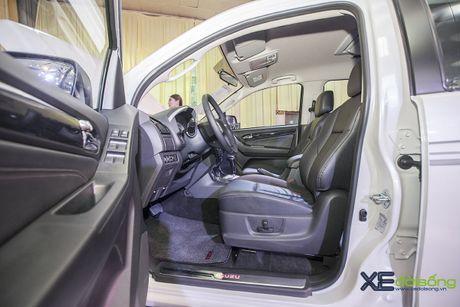 Kham pha SUV dac biet Isuzu mu-X Limited gia 990 trieu dong - Anh 7