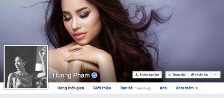 Pham Huong bi fan hack Facebook, chuyen qua Instagram - Anh 1