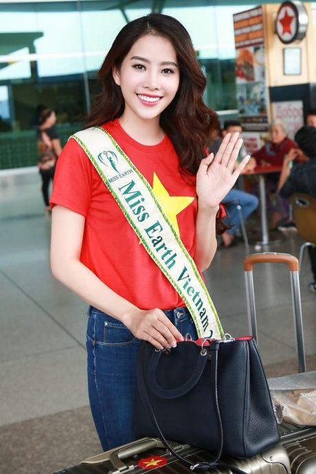 Nam Em xinh dep rang ngoi len duong tham du Miss Earth 2016 - Anh 2