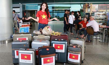Nam Em xinh dep rang ngoi len duong tham du Miss Earth 2016 - Anh 3