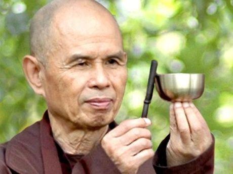 Thien su Thich Nhat Hanh va bai noi chuyen chi chung sinh di den hanh phuc - Anh 1