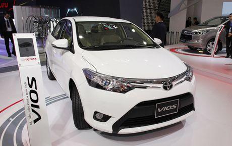 Toyota Vios moi - thay doi tinh nang - Anh 1