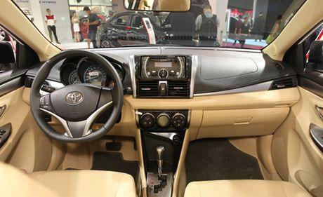 Toyota Vios moi - thay doi tinh nang - Anh 2