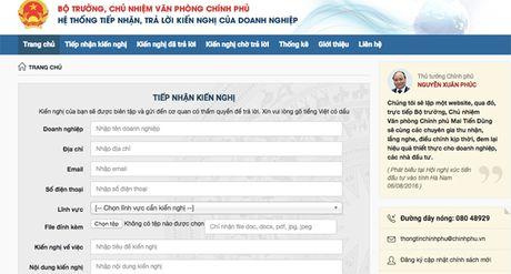Chinh phu mo them Website de lang nghe doanh nghiep - Anh 1