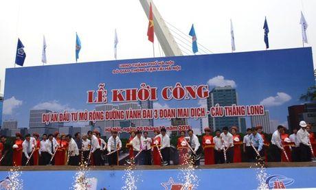 Ha Noi: Dau tu hon 3.100 ty dong mo rong duong Vanh dai III - Anh 1
