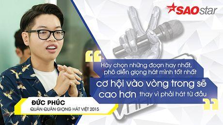 Duc Phuc lan dau bat mi thu thuat 'mot phat an ngay' khi casting The Voice 2017 - Anh 7