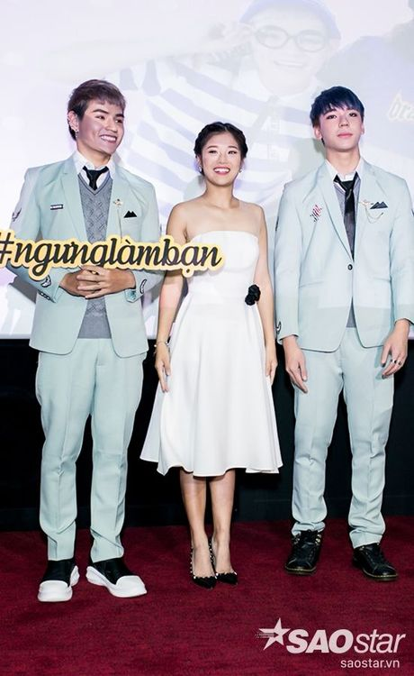 Hoang Yen xinh dep rang ngoi trong buoi ra mat MV tinh tay ba - Anh 4