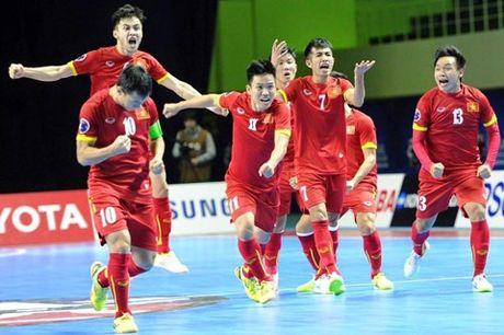 Diem tin bong da sang ngay 6/10: Cau thu Futsal se gianh QBV Viet Nam 2016 - Anh 1