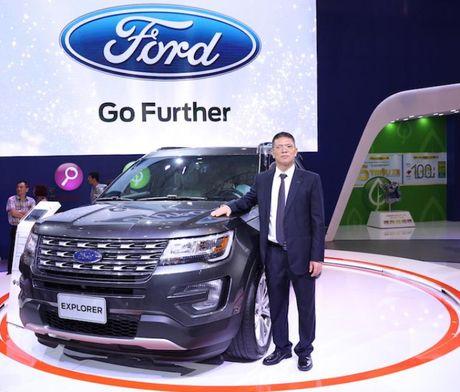 Ford Explorer, chiec SUV hang sang kieu My - Anh 2